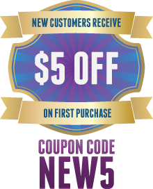 $5 Off for New Customers